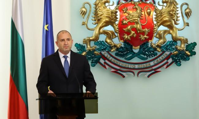 Румен Радев: За българите независимостта е морална победа превърнала се в мощен стимул