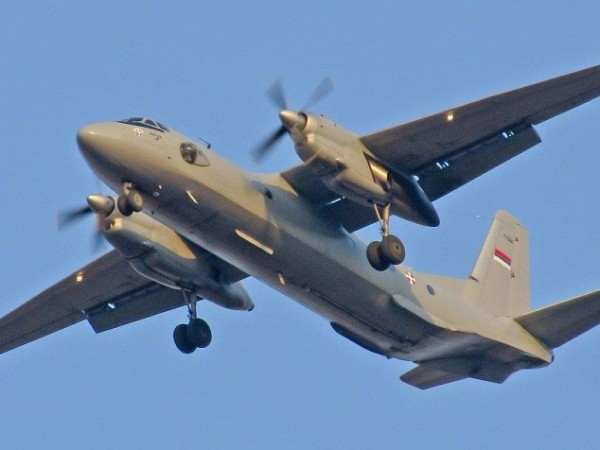 Самолет Ан-26 е изчезнал от радарите в Хабаровския край, предава