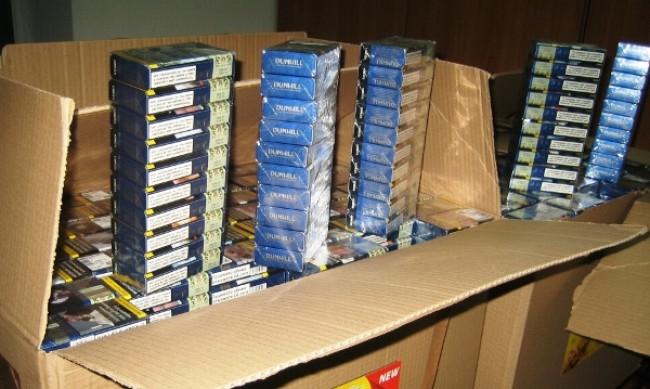 В Плевен иззеха близо 4000 кутии с цигари без бандерол