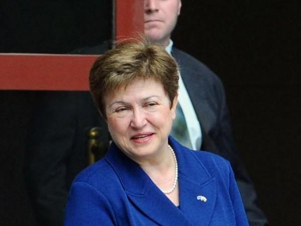 Управляващият директор на Международния валутен фонд Кристалина Георгиева отрече твърденията