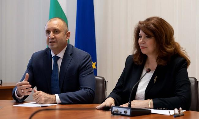 АБВ ще подкрепи двойката Радев-Йотова на президентските избори