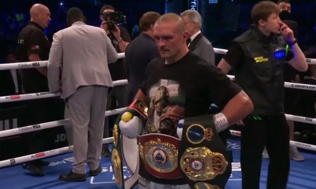Нов световен шампион в бокса - Олександър Усик детронира Джошуа