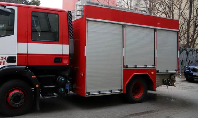 Пожар в сметище в Кюстендилско