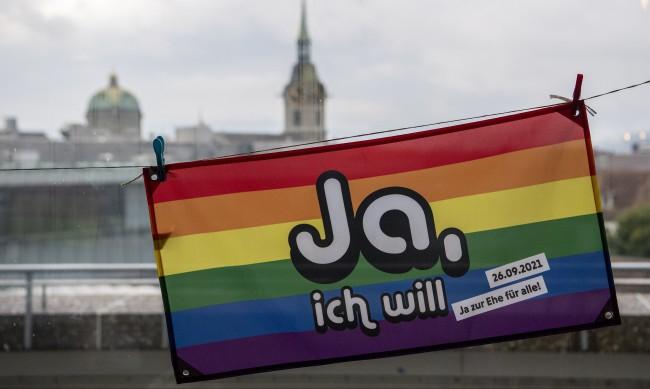 2/3 от швейцарците одобриха еднополовите бракове
