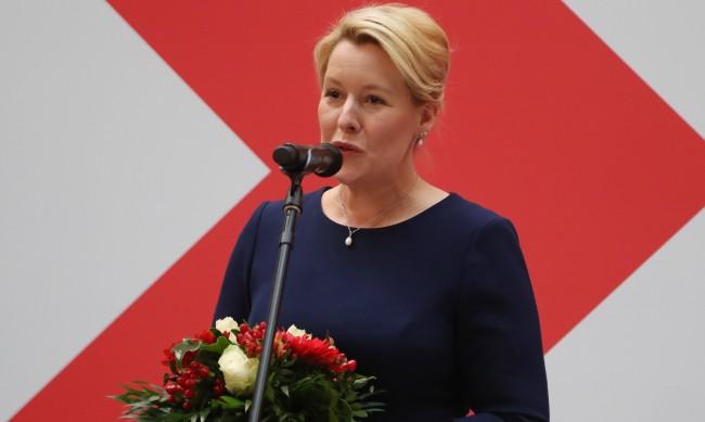 Жена става за първи път кмет на столицата на Германия
