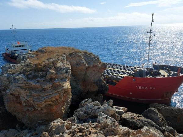 Има индикации за замърсяване на морската вода от товара на