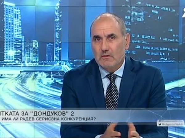 Не мисля, че Борисов ще поеме риска да се кандидатира