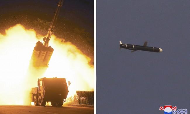 КНДР изстреля ракета, която падна в Японско море