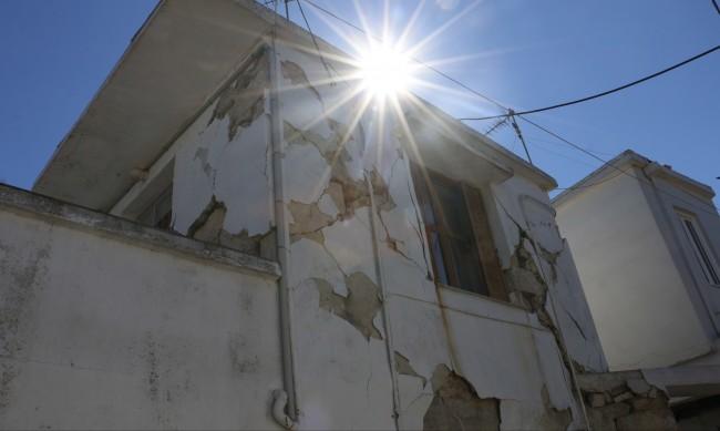 Ново силно земетресение на остров Крит тази сутрин