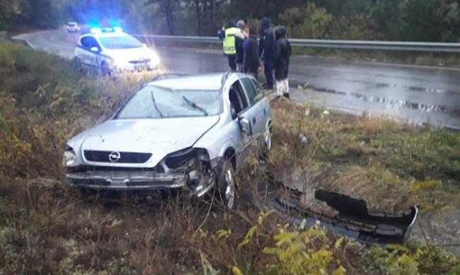 Катастрофа на пътя Банско-Гоце Делчев, трима са ранени
