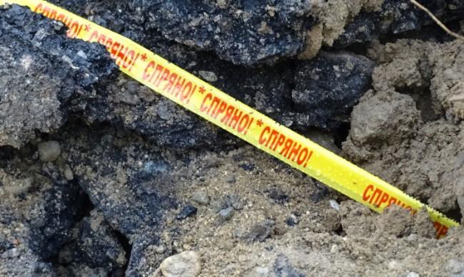 Изкопна яма застрашава къща и жители в Сливен