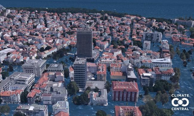 Промените в климата: Близо 50 града ще потънат, сред тях е и Бургас