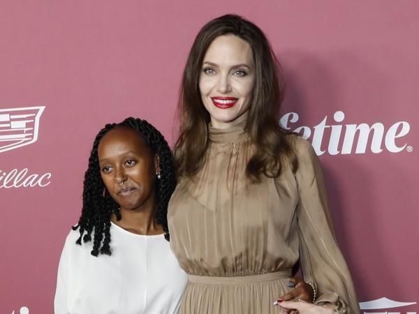 Анджелина Джоли и бившият ѝ мъж Джони Лий Милър бяха