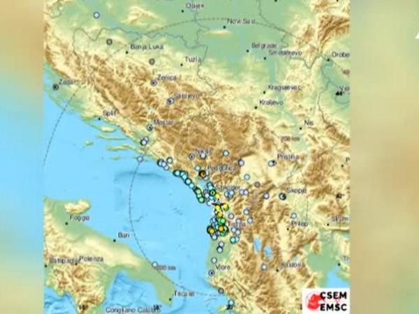 Земетресение с магнитуд 4,4 по Рихтер е регистрирано в Албания