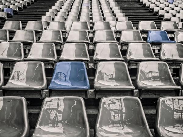 """Част от трибуна на стадиона на НЕК Ниймеген """"Гоферт"""" се"""
