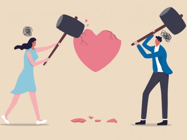 Постоянните спорове и конфликти са знак за лоши любовни взаимоотношения.