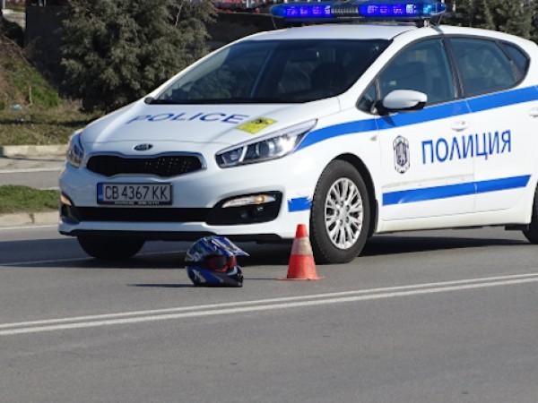 Затруднено е движението по пътя Асеновград-Пловдив заради катастрофа, съобщиха от