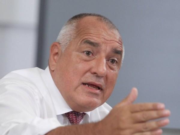 Лидерът на ГЕРБ Бойко Борисов обвини правителството, че създава хаос,