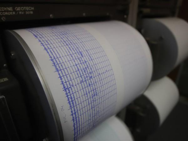 Земетресение с магнитуд 4,5 бе регистрирано днес на гръцкия о-в