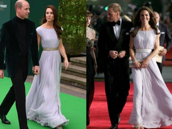 Кейт Мидълтън за пореден път доказа, че старите дрехи не
