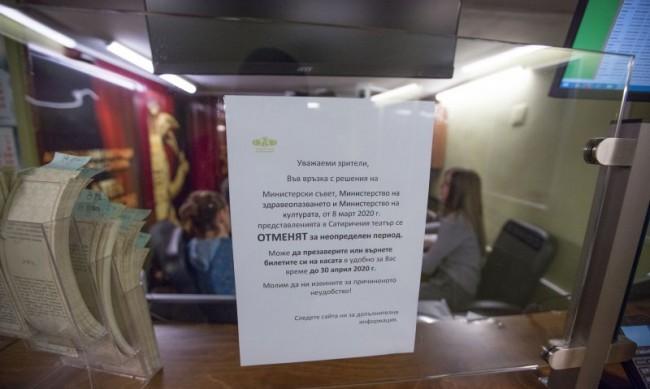 Изискването за зелен сертификат обърквало театрите