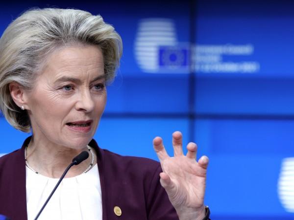 Председателят на Европейската комисия Урсула фон дер Лайен заяви, че