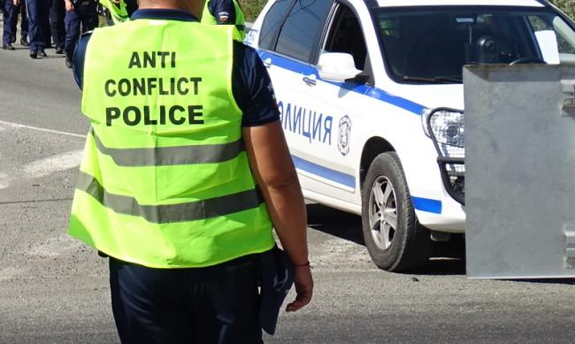 Протест затвори за час пътя Разград-Търговище