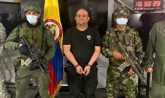 Арестуваха най-издирвания наркотрафикант в Колумбия
