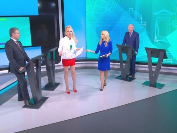 Скандал в студиото на bTV тази неделя. В първи предизборен