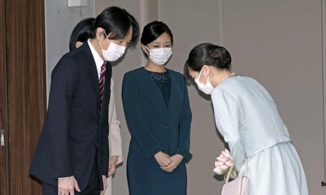 Японска принцеса се омъжи, губи титлата си