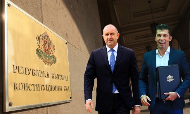 КС: При назначаването Петков е бил гражданин на България и Канада - мотивите