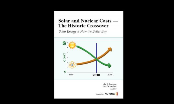Слънчевата енергия е по евтина от АЕЦ