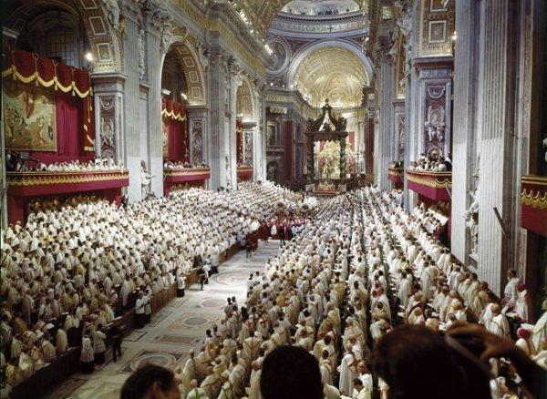 Резултат с изображение за Втория Ватикански събор.