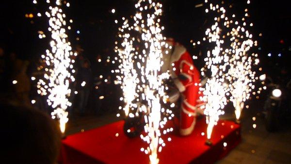 Запалване на новогодишната елха в Шумен
