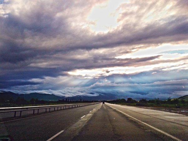 Път, небе, посока...