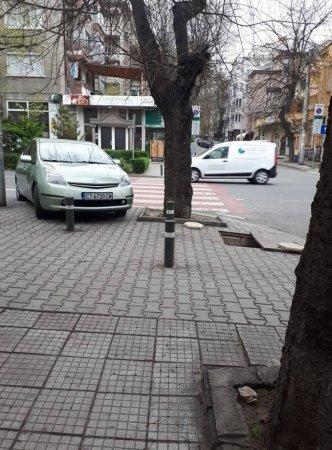 Как се спира на пешеходна пътека