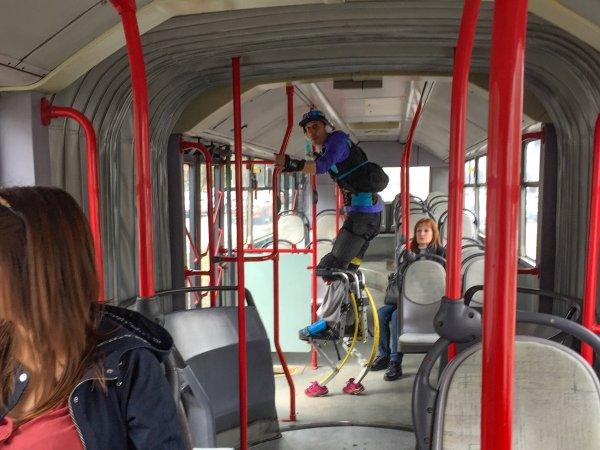 Нависоко в градския транспорт