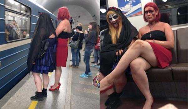 Руска мода от метрото – със сигурност е запомняща се!