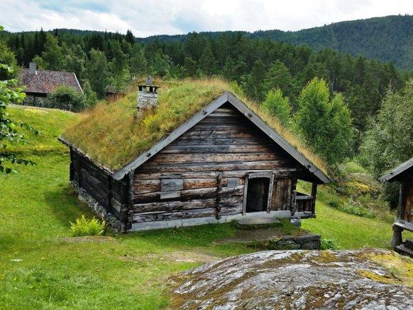 Стара викингска къща