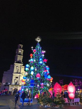 Коледната елха в Каунас