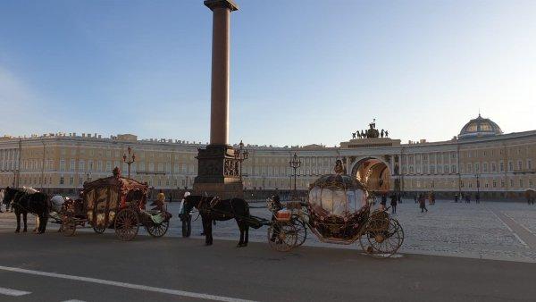 Ермитажът в Санкт Петербург