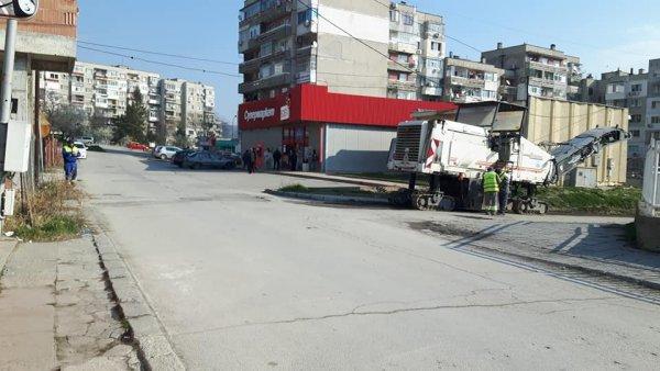 В Шумен вместо дезинфекция на улиците-асфалт