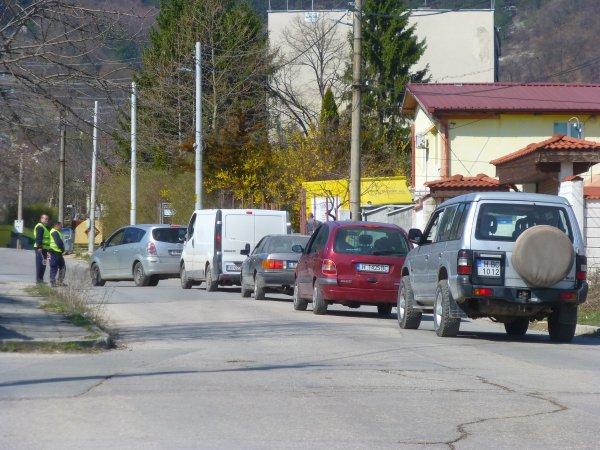 На КПП ''Лозево'' на един от изходите на Шумен