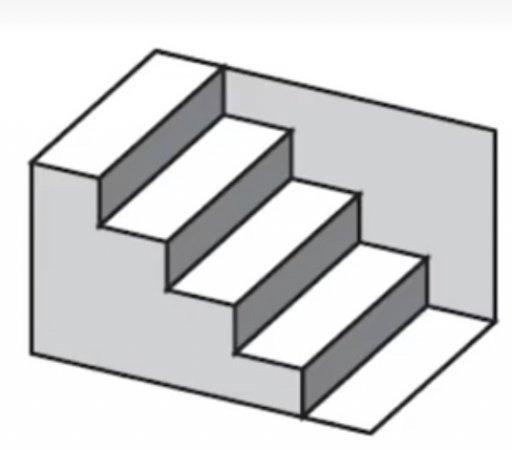 стълба който наобратно обърнат пак е стълба