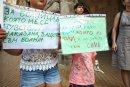 Родители на протест срещу превръщането на 40-годишно скеле в детска болница
