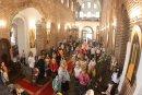 Тържествена литургия в София за празника Вяра, Надежда и Любов